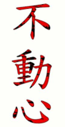 Fudoshin (不動心 fudoushin)